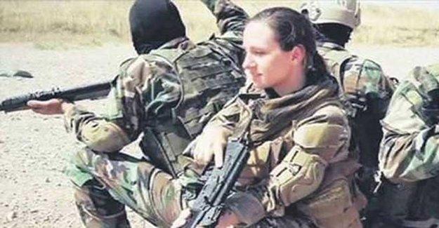 Üç Çocuk Annesi ABD'li Kadın YPG'ye Katıldı