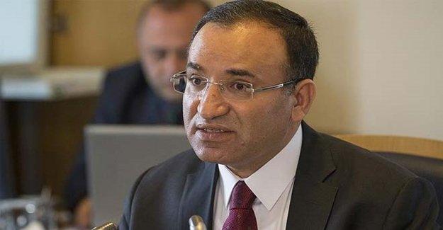 Adalet Bakanı Bekir Bozdağ Açıklama Yaptı