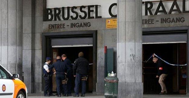 Belçika'nın Başkenti Brüksel'de Şüpheli Valiz Paniği!