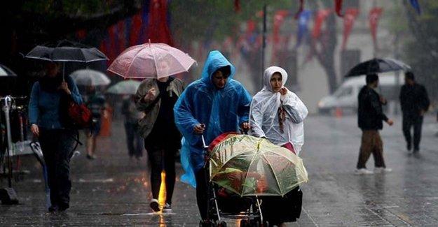 Bu Bölgelerde Yaşayanlar Dikkat! Şiddetli Yağış Geliyor