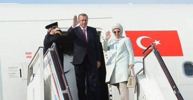 Cumhurbaşkanı Erdoğan, Türkiye'ye Döndü