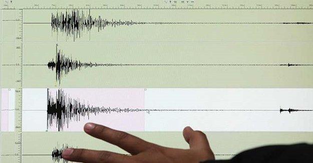 Ege'de 3,8 Şiddetinde Deprem