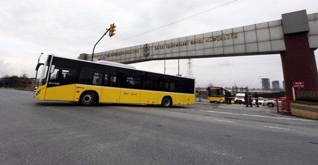 İBB'den Yurt Dışına Otobüs Hibesi