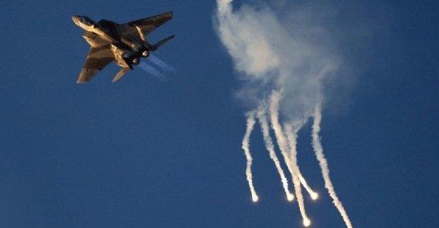 İsrail Jetleri Esed'ın Karargâhını Vurdu!