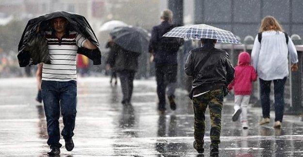 Marmara Bölgesi İçin Kuvvetli Sağanak Uyarısı Yapıldı