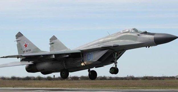 Moskova Yakınlarında Mig-29 Jeti Düştü