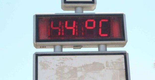 Muğla Ortaca 'da Termometreler 44 Dereceyi Gösterdi