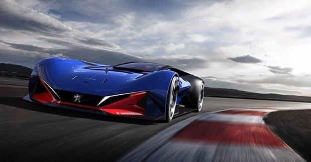 Peugeot'tan 500 Beygirlik Hibrid Yarışçı