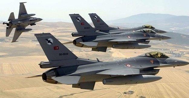 TSK Açıkladı: Sınırda F-16 Hareketliliği