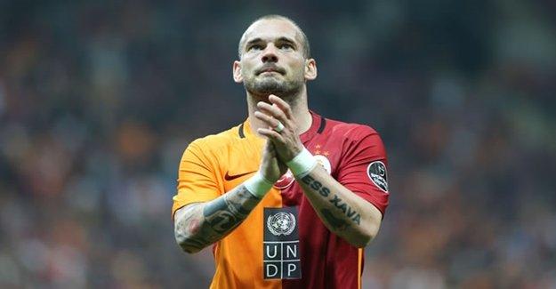 Wesley Sneijder'a Flaş Teklif! Sıcak Bakıyor...