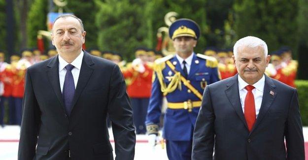 Yıldırım Ve Aliyev Ortak Basın Toplantısı Düzenledi