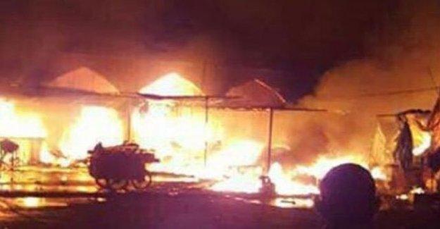Bağdat'ta Türbeye Bombalı Saldırı