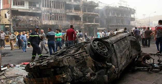 Bağdat'taki Saldırıda Ölü Sayısı Arttı