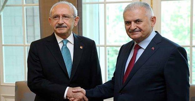 Başbakan Yıldırım Ve Kılıçdaroğlu Köşkte Buluştu