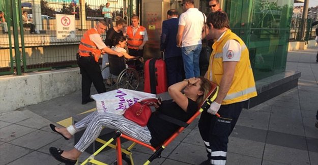 Marmaray'da Korkutan Panik!