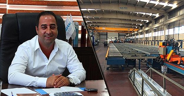 Arfem Alüminyum Diyarbakır'dan Dünya'ya üretiyor