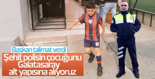 Galatasaray Şehit Fethi Sekin'in oğlunu alt yapıya alıyor