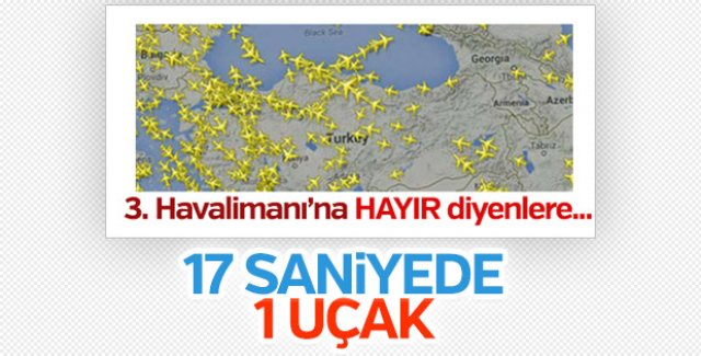 Türk hava sahasında yeni rekor