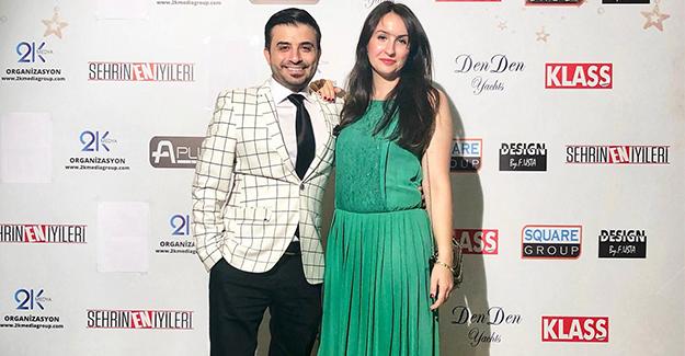 Uyar çifti Şehrin En İyileri Ödül Törenine katıldı