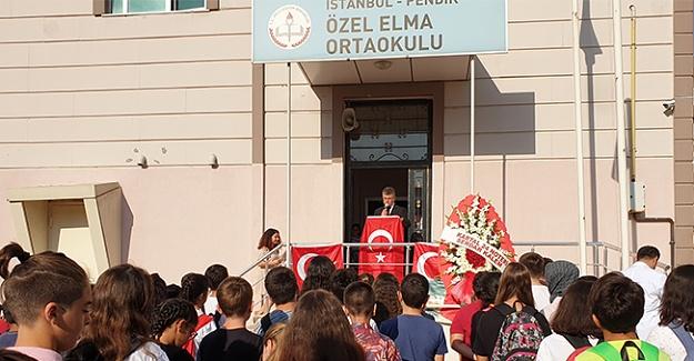 Elma Kolejinde 2019-2020 eğitim-öğretim yılı düzenlenen törenle açıldı