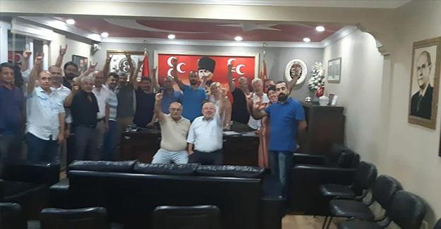 Milliyetçi Hareket Partisi Buca İlçe Başkanlığından örnek karar