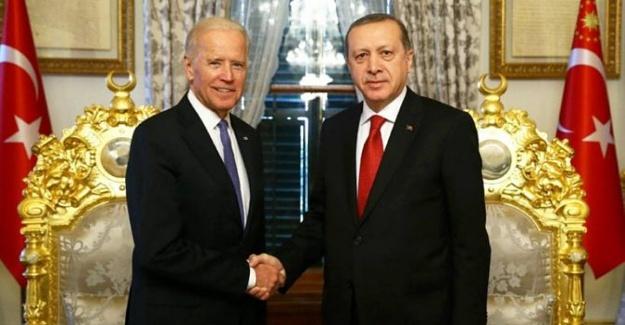 Erdoğan, Joe Biden'la görüştü