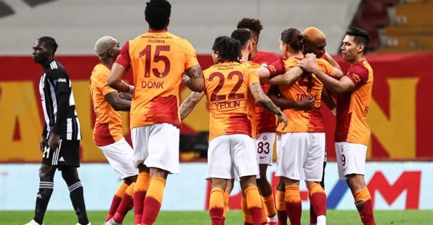 Galatasaray Beşiktaş'ı 3 golle mağlup etti
