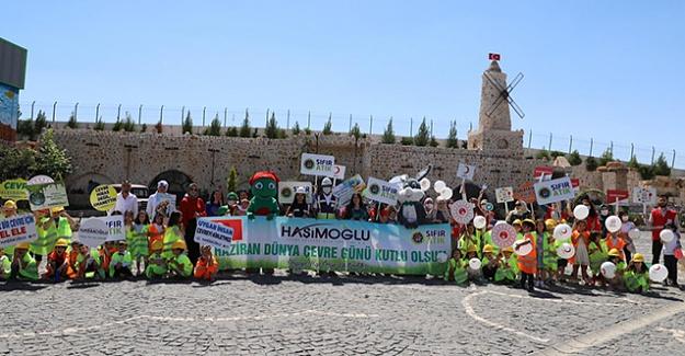 Haşimoğlu Tesisleri'nde 5 Haziran Dünya Çevre Günü kutlandı