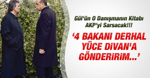 """""""4 BAKANI DERHAL YÜCE DİVAN'A GÖNDERİRİM"""""""