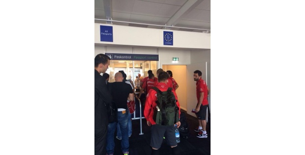 A Milli Futbol Takımı Odensede