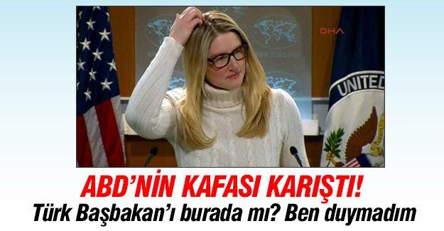 ABD Dışişleri Bakanlığı Sözcüsü'nden şaşırtan yanıt