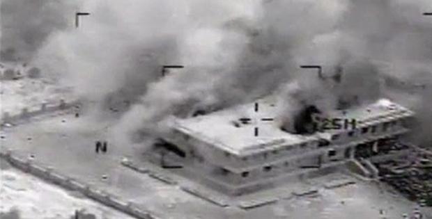 ABD IŞİD'in 9 hedefini vurdu!