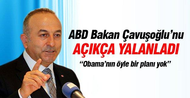 ABD Mevlüt Çavuşoğlu'nu yalanladı