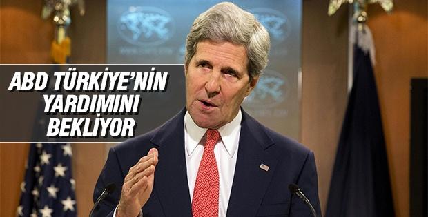 'ABD Türkiye'nin yardımını bekliyor'