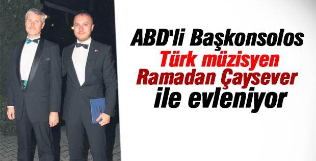 ABD'li Başkonsolos Türk gençle evleniyor