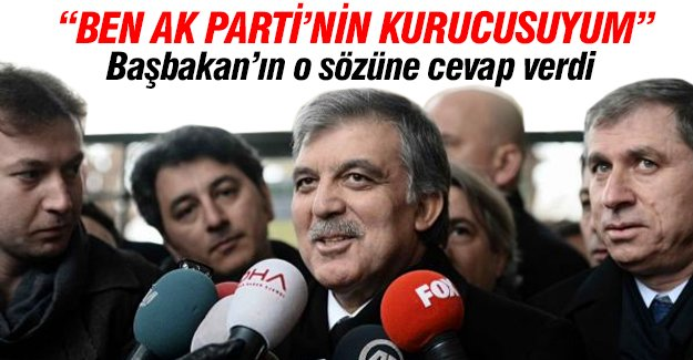 Abdullah Gül'den iç güvenlik paketiyle ilgili açıklama