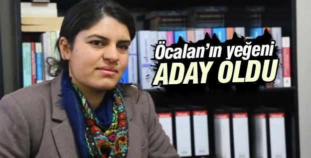 Abdullah Öcalan'ın yeğeni seçimde aday olacak