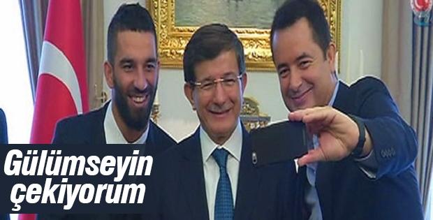 Acun Ilıcalı, Arda Turan ve Davutoğlu toplantısı