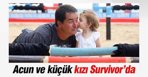Acun Ilıcalı küçük kızıyla Survivor'da!