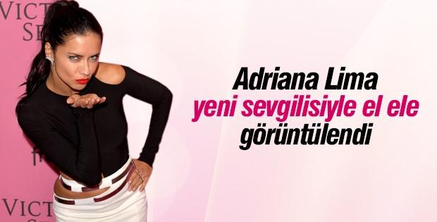 Adriana Lima yeni sevgilisiyle görüntülendi