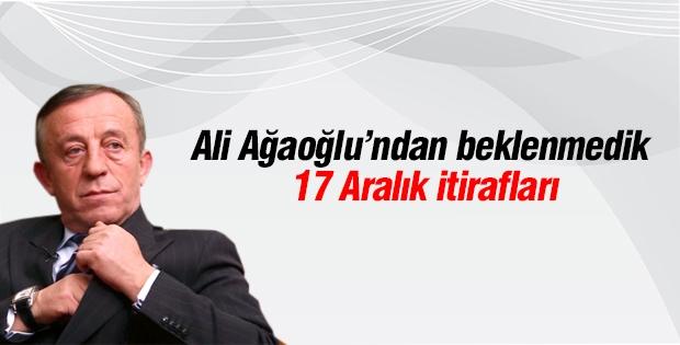 Ağaoğlu 17 Aralıkla ilgili açıklamalar da bulundu