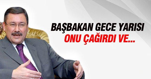 Ahmet Davutoğlu ve Melih Gökçek'ten sürpriz görüşme