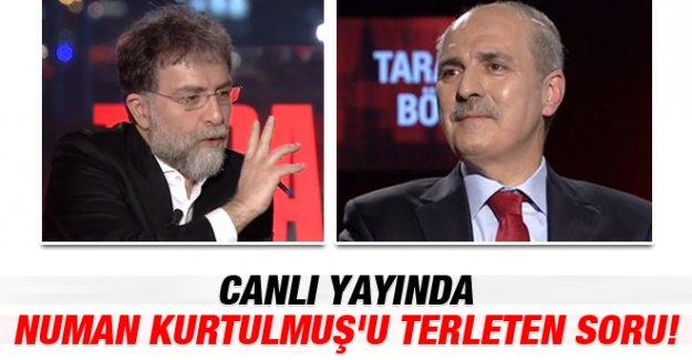 Ahmet Hakan'dan Numan Kurtulmuş'u Terleten Soru