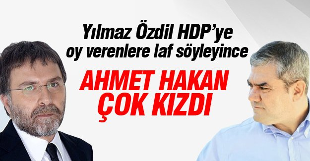 Ahmet Hakan'dan Yılmaz Özdil'e çok sert cevap