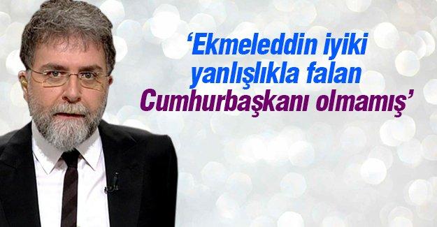 Ahmet Hakan İhsanoğlu'nu eleştirdi