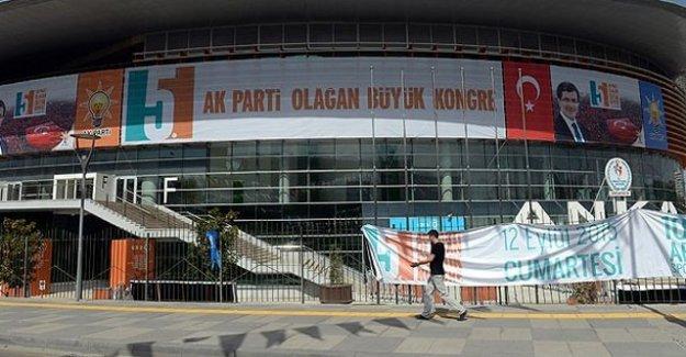 AK Parti 5. Olağan Büyük Kongresi bugün