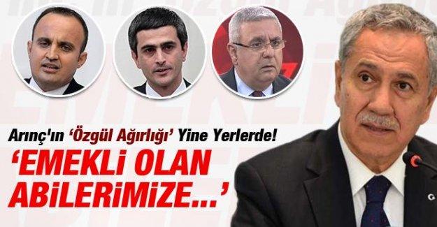 AK Parti'li Vekillerden Arınç'a Erdoğan Tepkisi!