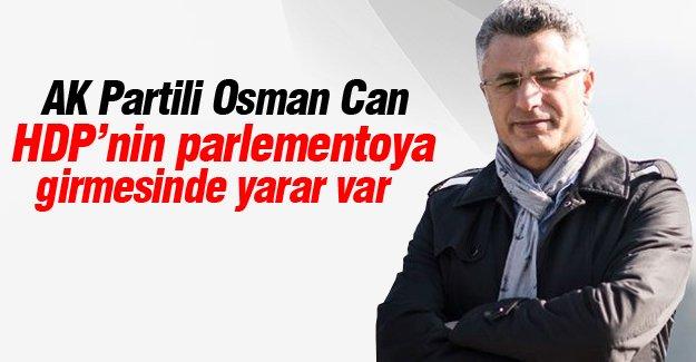 Ak Partili Osman Can'dan şaşırtan HDP açıklaması