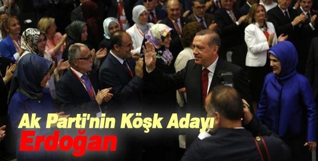 Ak Parti'nin Köşk Adayı Erdoğan