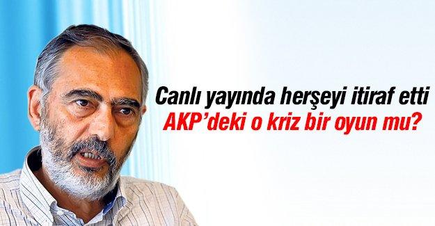AKP'deki o kriz bir oyun mu?